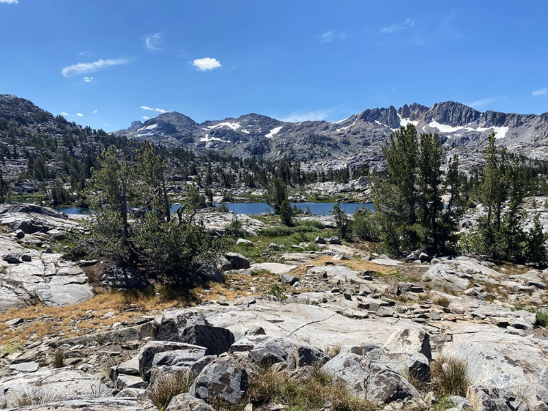 Views from Pacific Crest Trail.  Dorothy Lake Pass.  Elev: 9,520ft.
