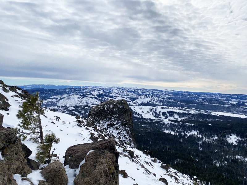 Views from the Castle Peak Trail