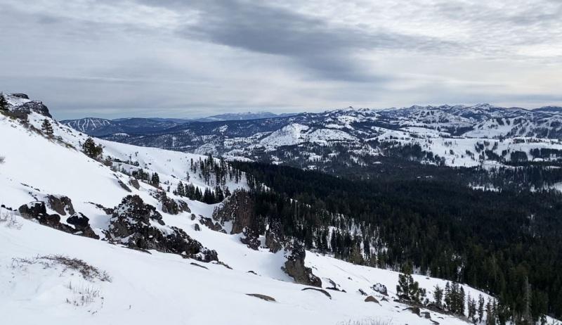 Castle Peak Summit.  Elev: 9,104ft.