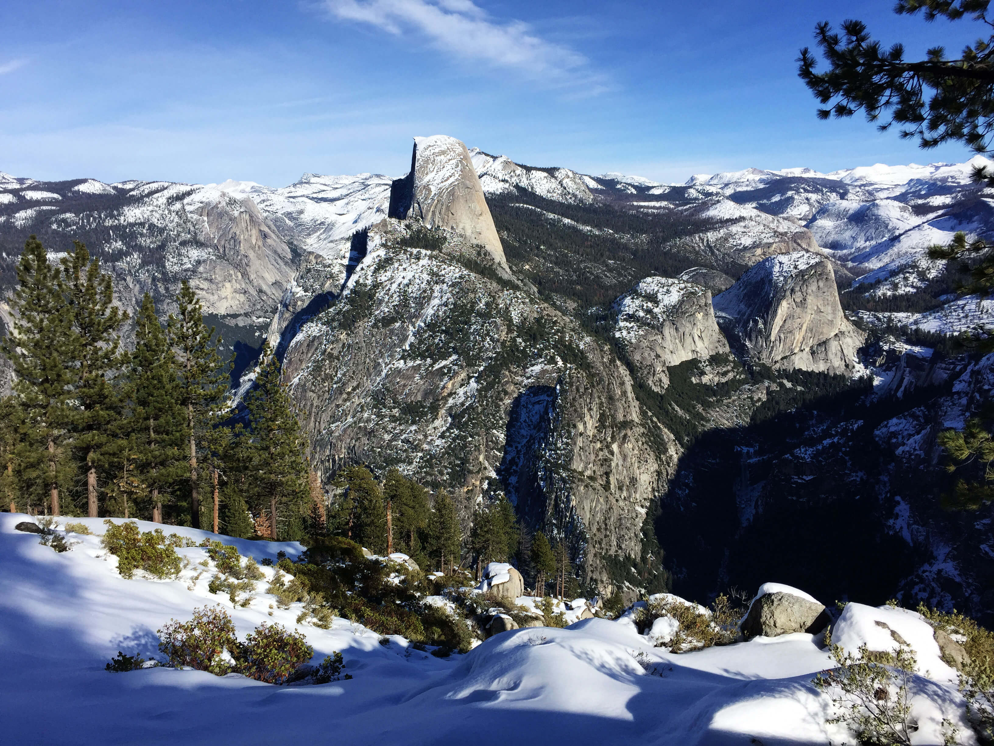 Glacier Point in Winter