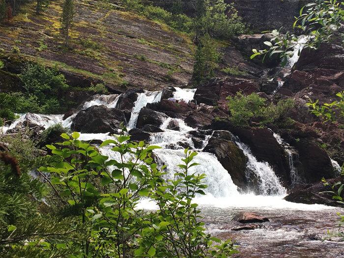 Red Rock Falls - Glacier National Park