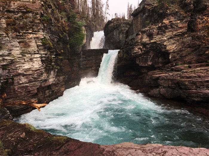 St. Mary Falls - Glacier National Park