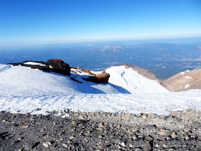 Views from the trail.  Mt. Shasta