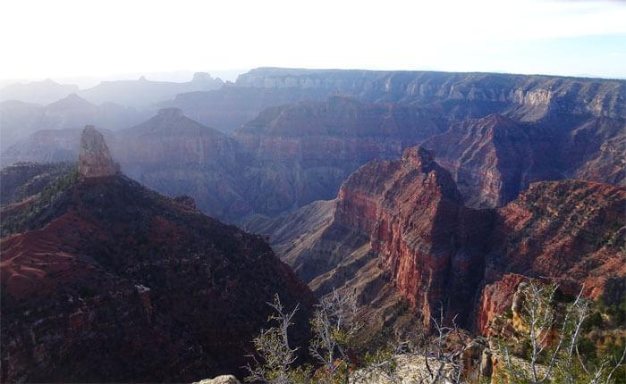 Ken Patrick Trail. - Grand Canyon Trail