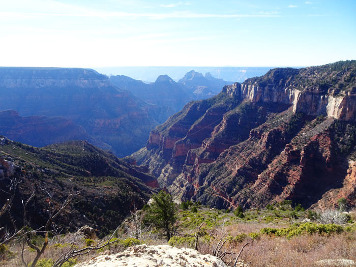 Uncle Jim Trail -  Grand Canyon Trail