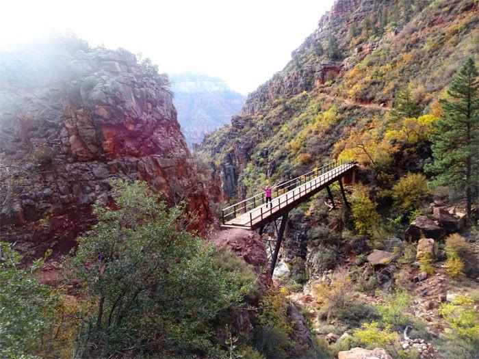 North Kaibab Trail Bridge - Grand Canyon National Park