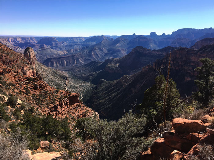 Nankoweap Trail - Grand Canyon National Park