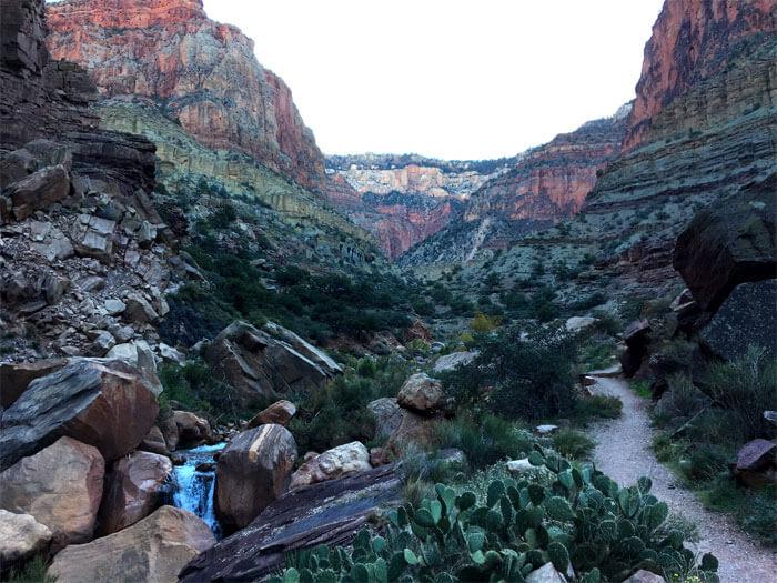 North Kaibab Trail - Grand Canyon Trail