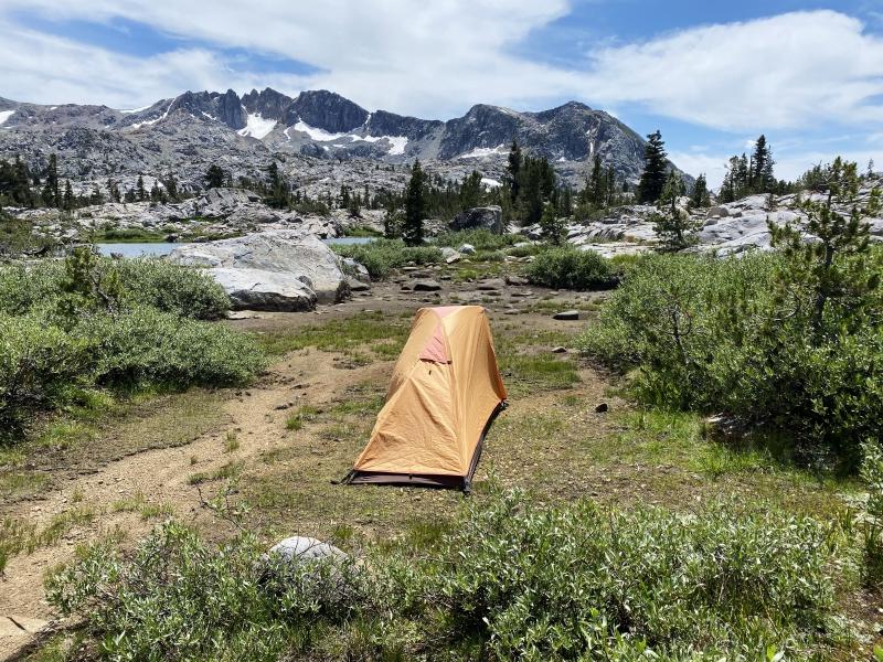 Dorothy Lake Pass via PCT Trail.