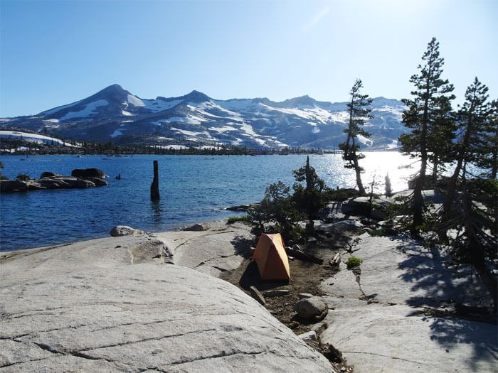 One of the best places I have ever camped at in Desolation Wilderness.  Lake Aloha.