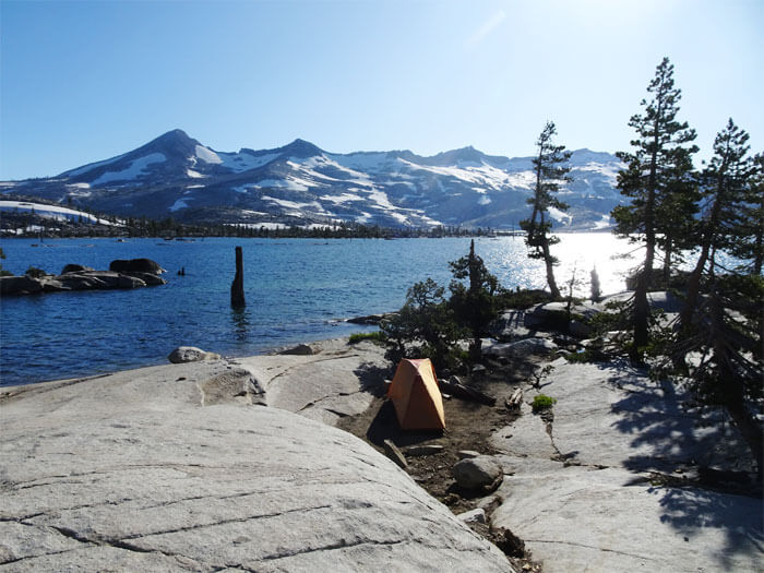 One of the best campsites I have ever stayed at! Lake Aloha.  Desolation Wildeness