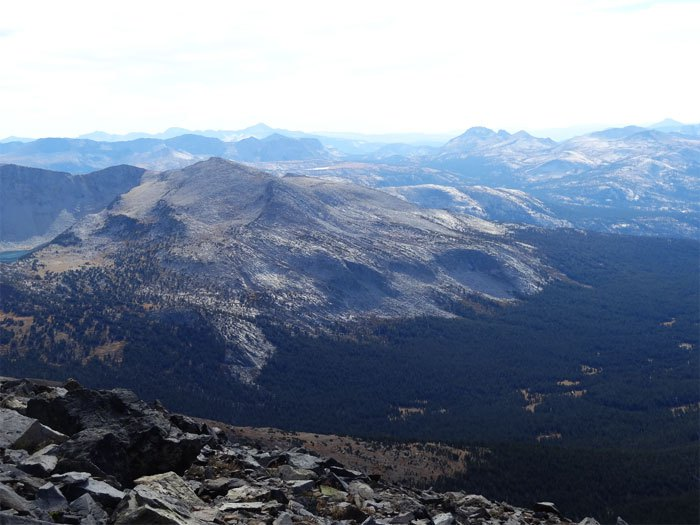 Views from the summit.  Mt. Dana.   Elevation: 13,061ft.  Yosemite National Park