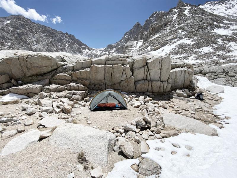 My minimalist tent!