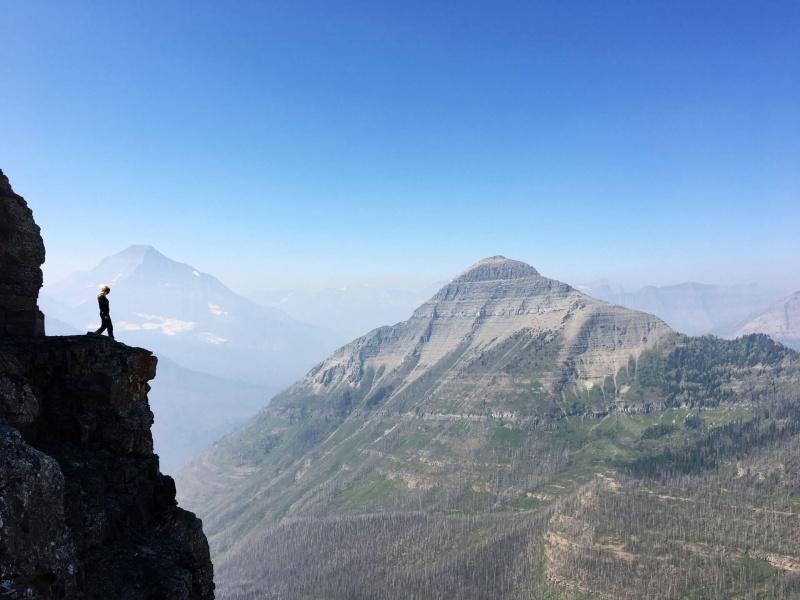 Dawson-Pitamakan Pass. Glacier National Park