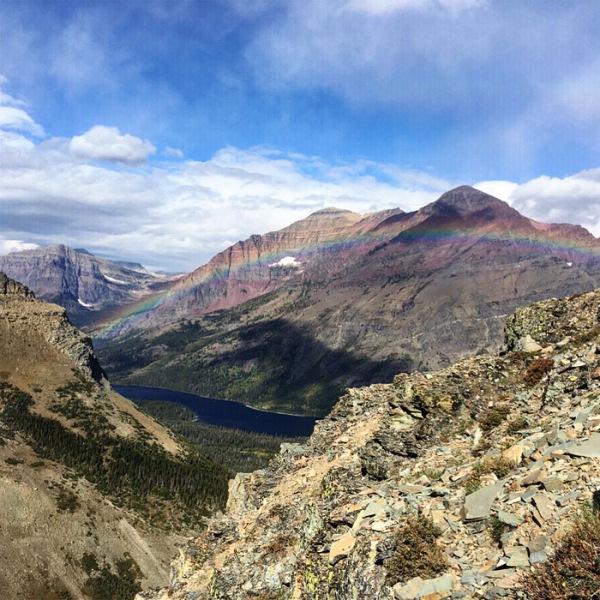 Scenic Point Trail.  Glacier National Park