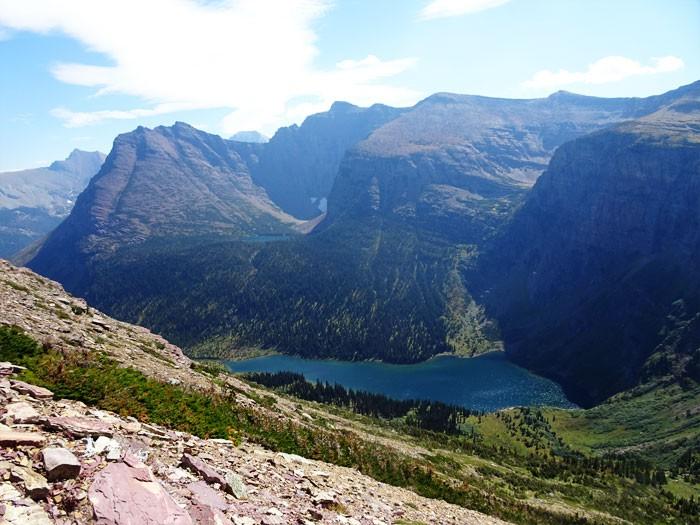 Grizzly Lake.  Glacier National Park