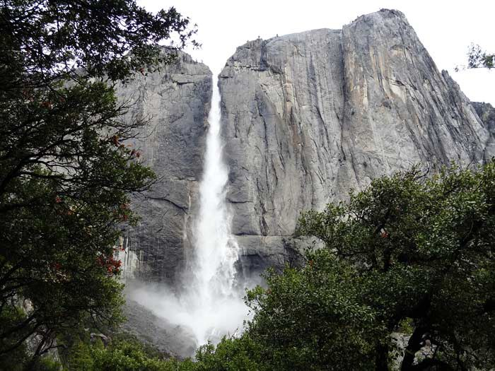 Upper Falls.  Yosemite National Park, Ca