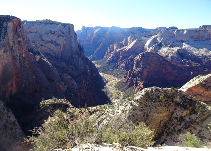 Observation Point.  Zion National Park