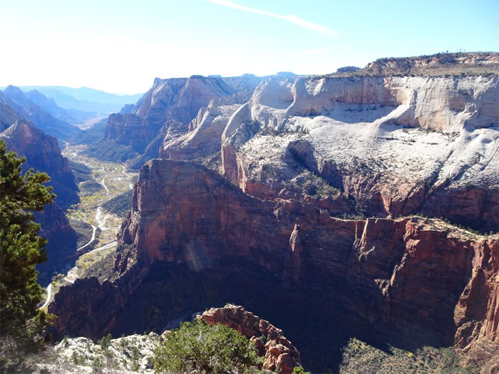 Observation Point.  Zion National Park