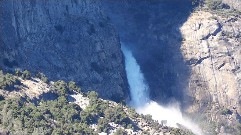 Wapama Falls - Yosemite National Park