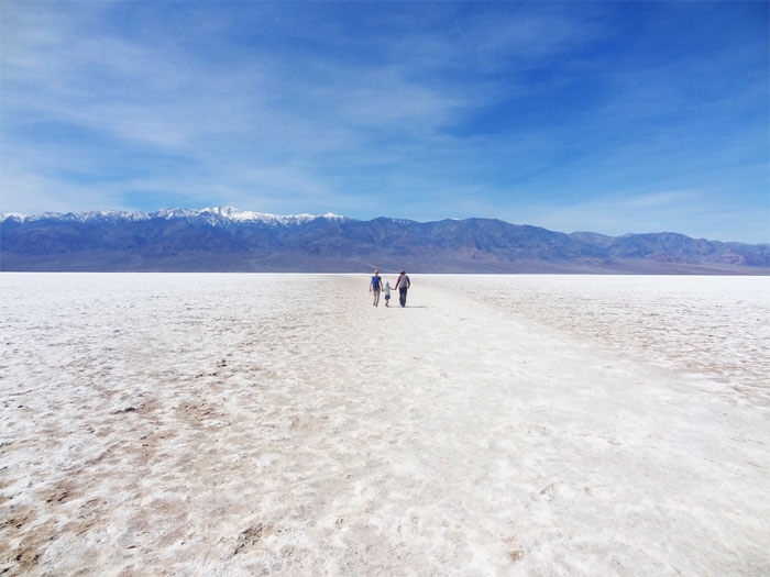 Badwater Basin. Death Valley National Park