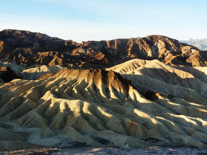 Zabriskie Point. Death Valley National Park