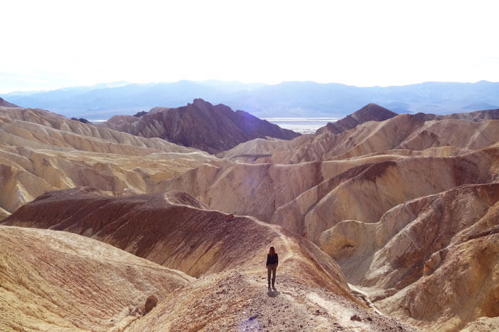 Golden Canyon - Death Valley National Park, Ca