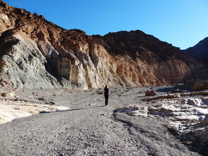 Mosaic Canyon. Death Valley National Park