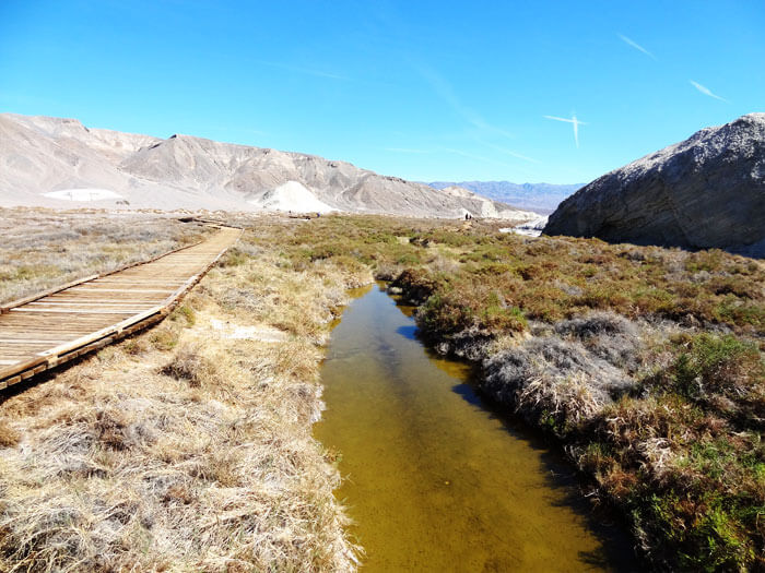 Salt Creek Interpretive Trail. Death Valley