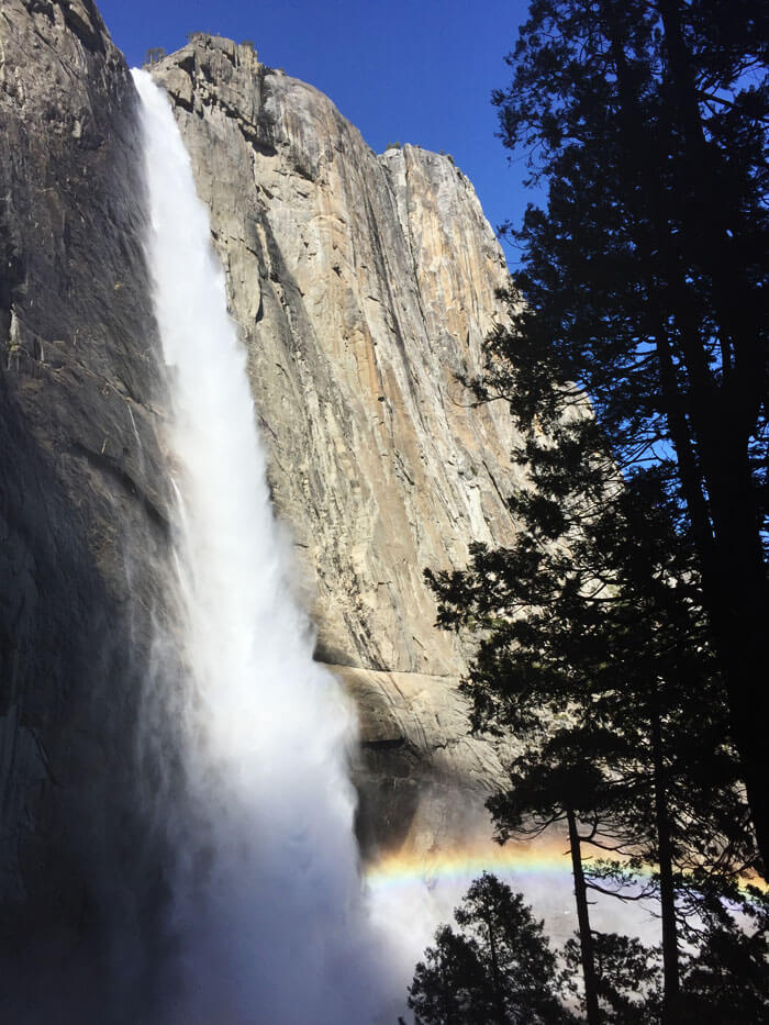 Upper Yosemite Fall - Yosemite National Park