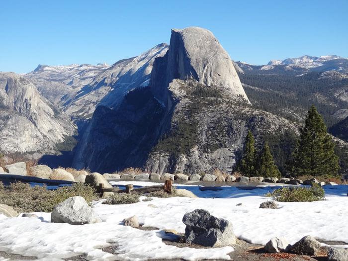 Glacier Point. Yosemite National Park. California