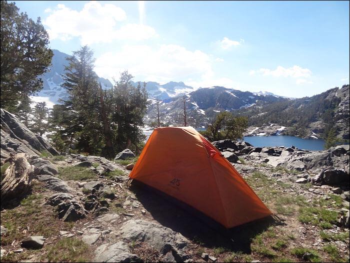 ALPS Mountaineering Zephyr 1-Person Tent.