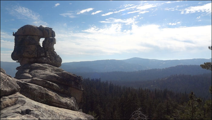 Indian Rock - Yosemite National Park