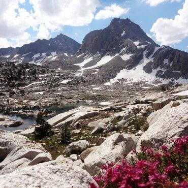 John Muir Pass - John Muir Trail