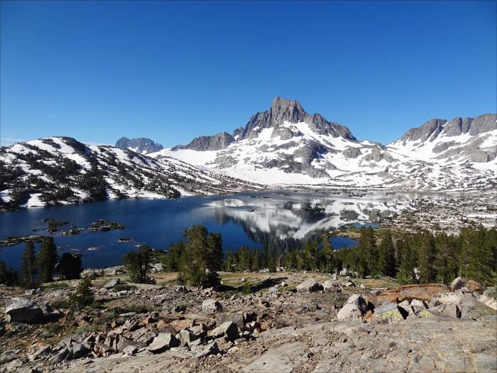 Thousand Lakes. Ansel Adam Wilderness