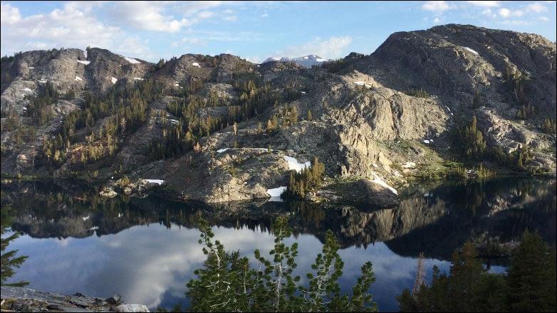 Garnet Lake. Ansel Adam Wilderness