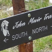 John Muir Sign Post