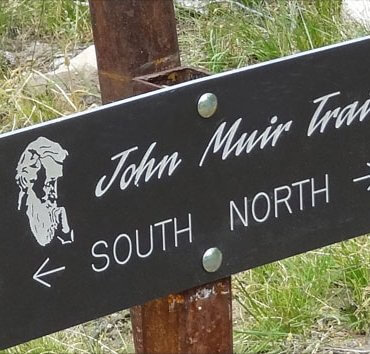 John Muir Sign Post
