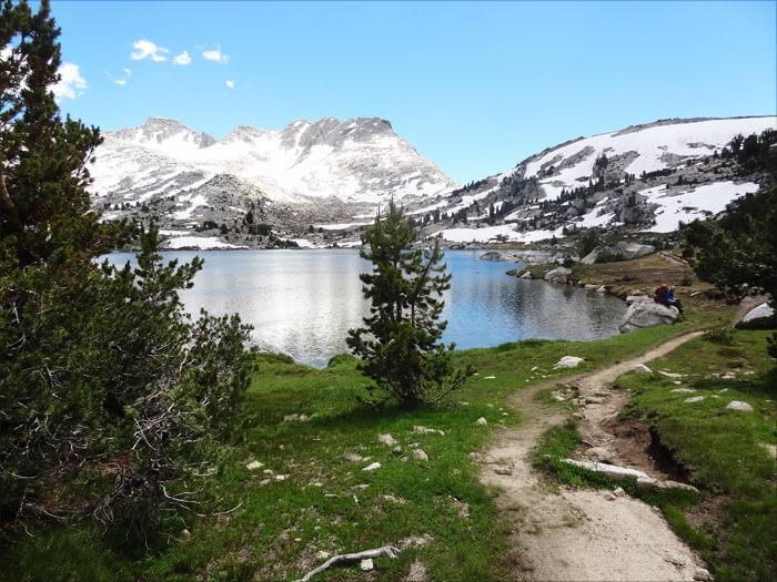 Marie Lake. John Muir Wilderness