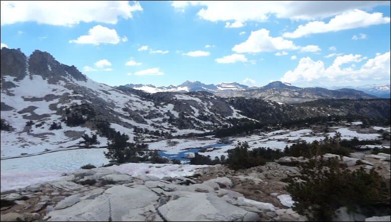 Silver Pass Lake. John Muir Wilderness