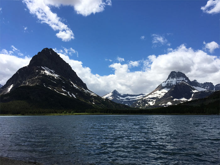 Swiftcurrent Lake - Glacier National Park
