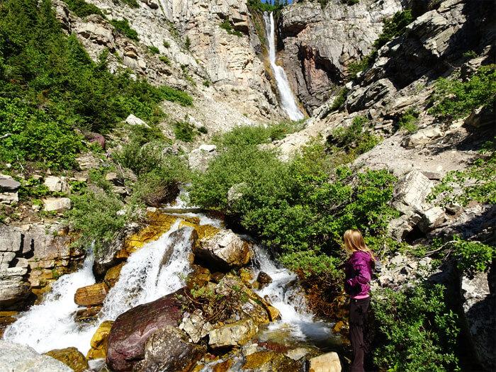 Apikuni Falls - Glacier National Park