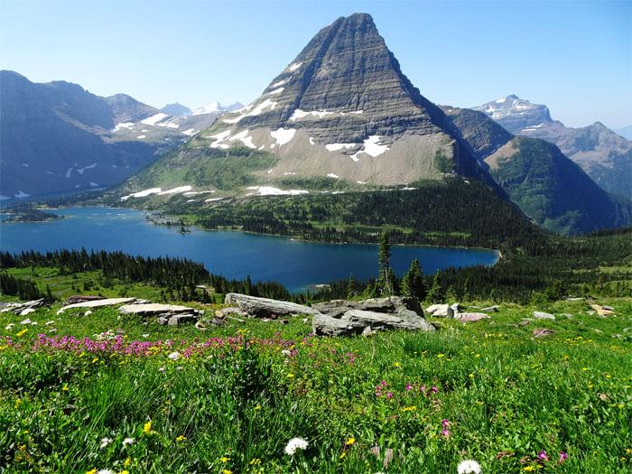 Hidden Lake. Glacier National Park