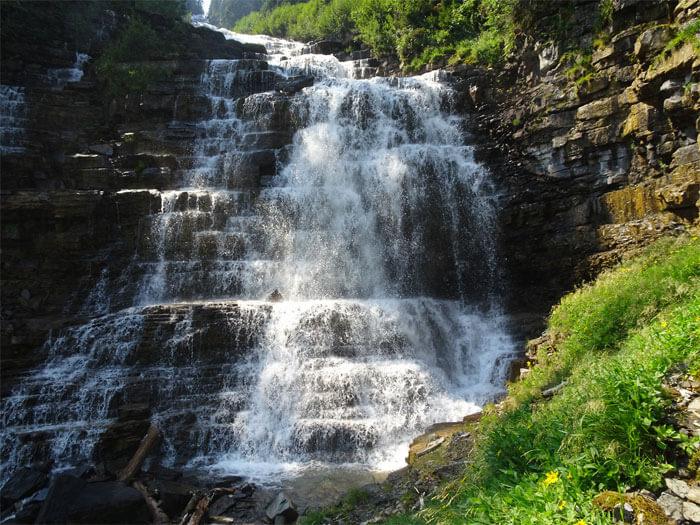Florence Falls - Glacier National Park