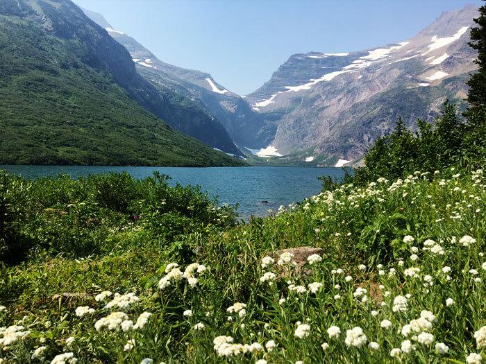 Gunsight Lake - Glacier National Park