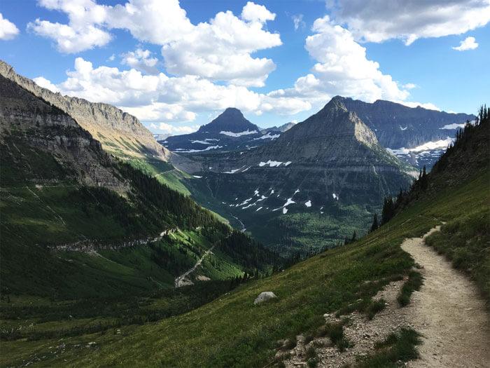 Highline Trail. Glacier National Park