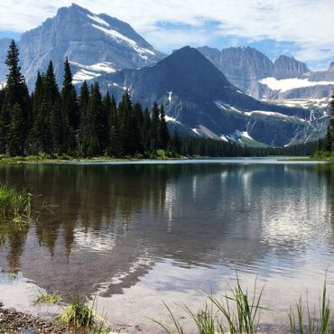 Lake Josephine. Glacier National Park