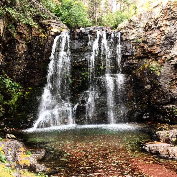 Rockwell Falls - Glacier National Park