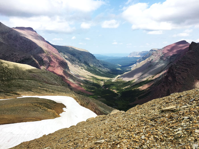 Syeh Pass - Glacier National Park