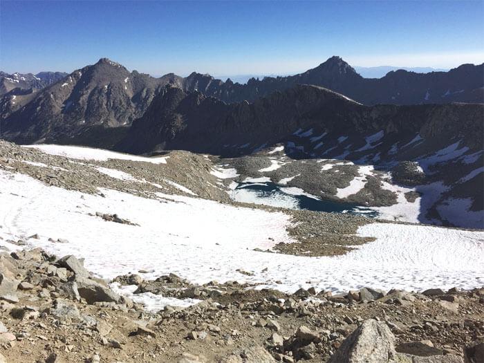 Forrest Pass. - John Muir Trail